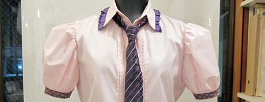 はたて 衣装制作その2 -ブラウス&ネクタイリーツスカート-