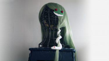 「3Dプリンターで早苗の髪飾りを作ってみた」を投稿しました